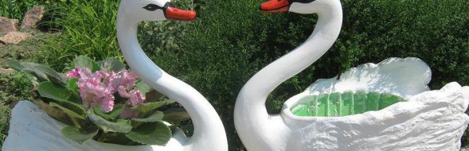 Как сделать лебедя своими руками мастер класс 62