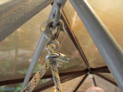 Чертежи садовых качелей из профильной трубы