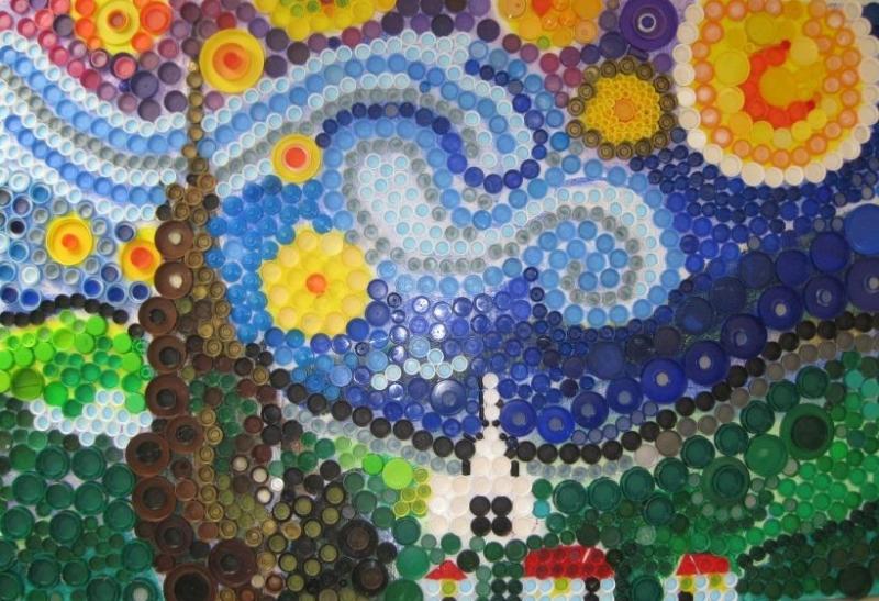 Настенное мозаичное панно
