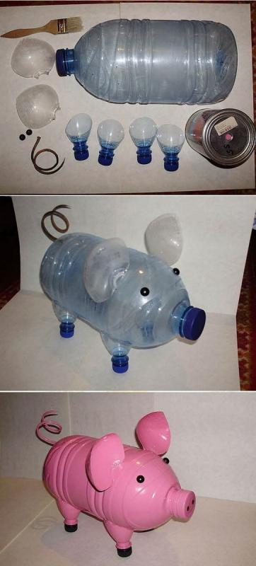Эффектные поделки из пластиковых бутылок: пошаговые инструкции